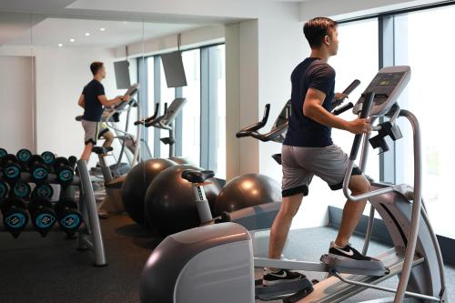 The fitness center and/or fitness facilities at ibis Styles Jakarta Tanah Abang