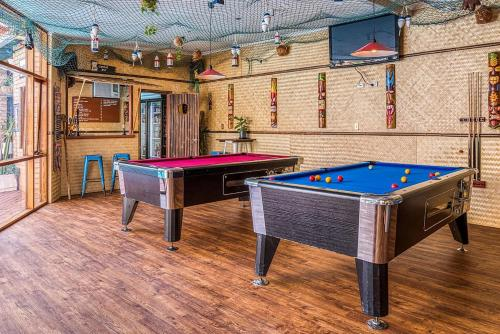 A pool table at Indian Ocean Hotel