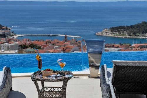 The swimming pool at or close to Villa Afrodita