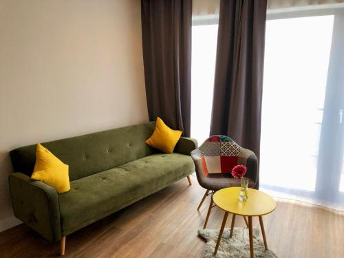 A seating area at Niteroom Boutiquehotel & Apartements