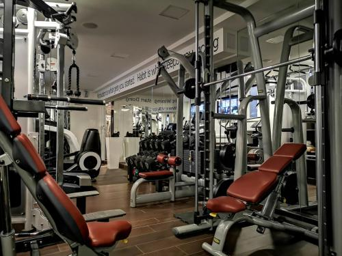 The fitness centre and/or fitness facilities at Damianii Luxury Boutique Hotel & Spa