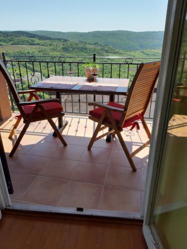 Un balcón o terraza de Guesthouse Villa Marija