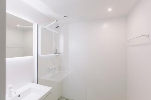 A bathroom at YUST Antwerp