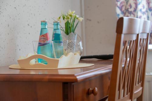 Drinks at Haus Schlematal Hotel und Restaurant