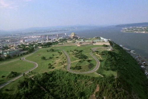 A bird's-eye view of B&B Saint Louis