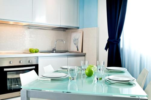 Кухня или мини-кухня в Residence Mareamare