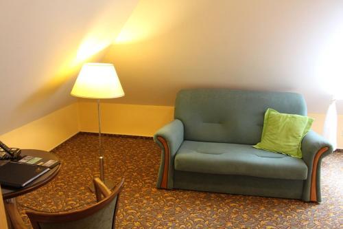 Гостиная зона в Zámecký Hotel Zlatý Orel
