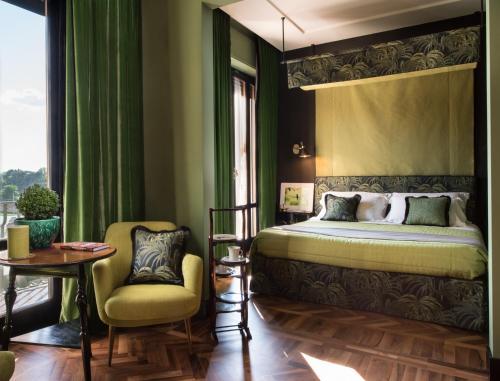 Letto o letti in una camera di Velona's Jungle Luxury Suites