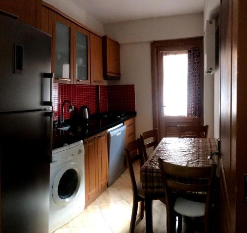 مطبخ أو مطبخ صغير في BORDO SUITE HOTEL