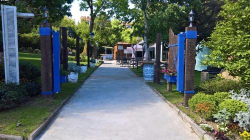 Children's play area at Hotel Olajauregi