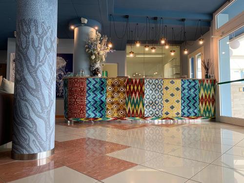 Vstupní hala nebo recepce v ubytování Villaggio Hemingway - Aparthotel