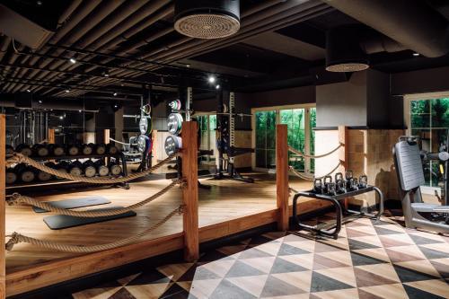 Centrum fitness w obiekcie Amerikalinjen