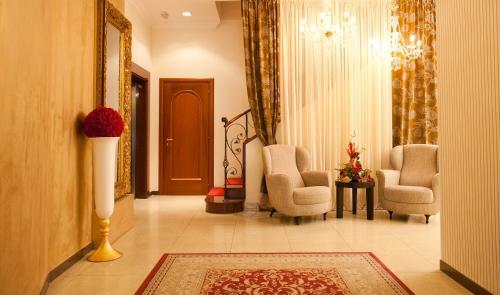 El vestíbulo o zona de recepción de Hotel Globo