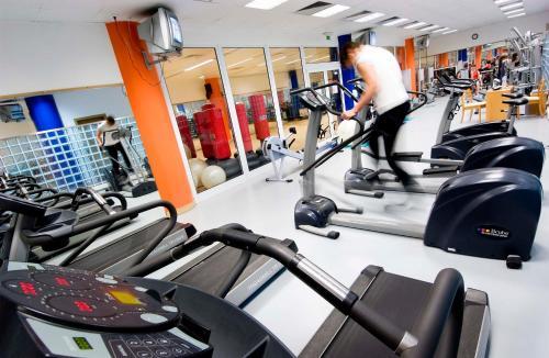 Gimnasio o instalaciones de fitness de Eurosol Residence