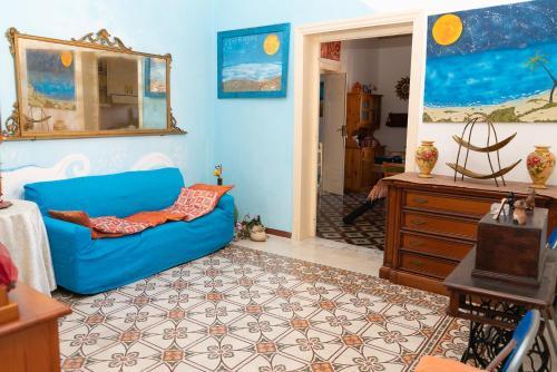Area soggiorno di B&B Favignana
