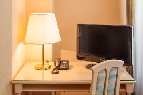 TV/Unterhaltungsangebot in der Unterkunft Hotel Villa Auguste Viktoria