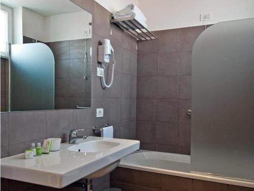 Bagno di Hotel Piazza Bellini & Apartments