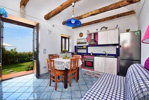 A kitchen or kitchenette at Il Giardino di Rosa