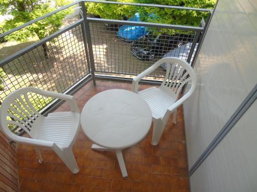 Balkón nebo terasa v ubytování Residenza Grecale
