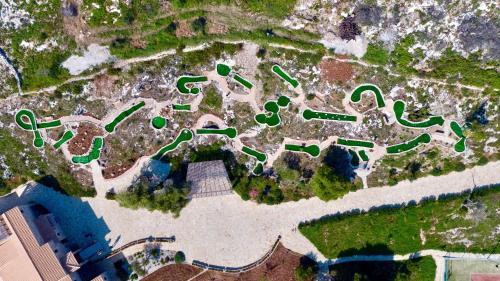 Άποψη από ψηλά του Amara Villa