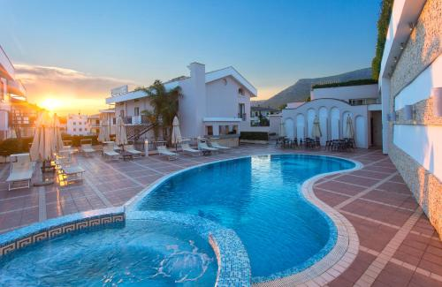 The swimming pool at or near Virgilio Grand Hotel