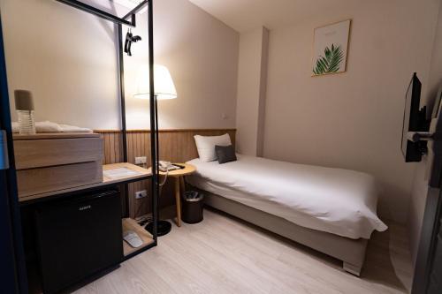 Feng-Chi Innにあるベッド