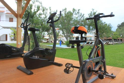 The fitness center and/or fitness facilities at Vallian Village Hotel