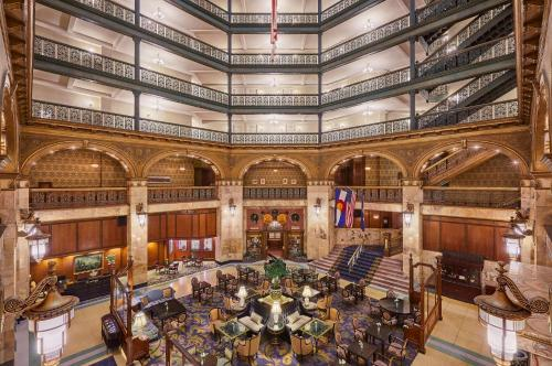 A restaurant or other place to eat at The Brown Palace Hotel and Spa, Autograph Collection