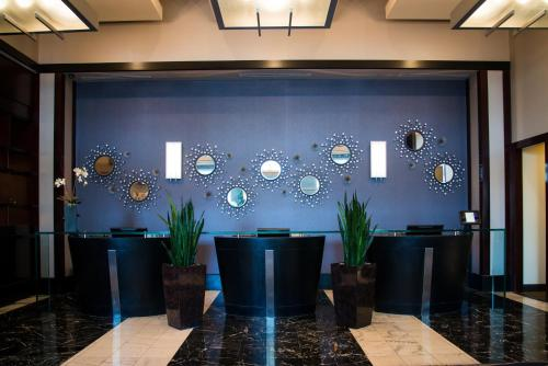 The lobby or reception area at Platinum Hotel and Spa