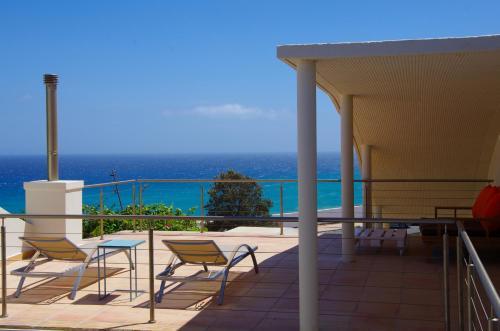 Balkon lub taras w obiekcie VILLA ISABEL I