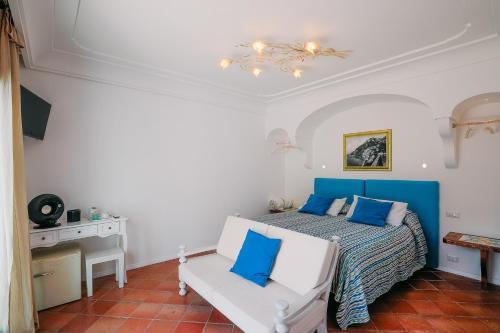 Area soggiorno di Villa Anfitrite