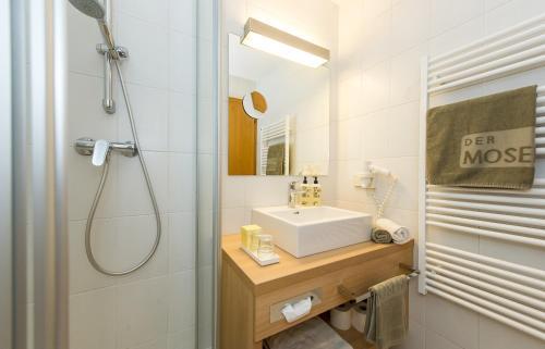 Ванная комната в Hotel Moserhof