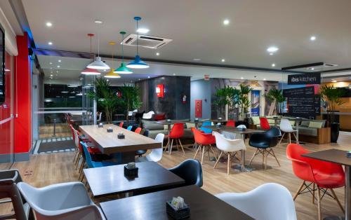 O lounge ou bar de ibis Sao Jose