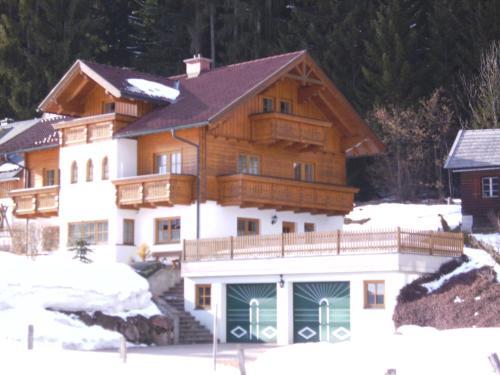 Landhaus Trinker v zimě