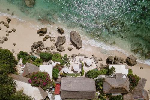 A bird's-eye view of Rock'n Reef