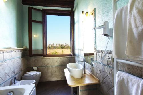 A bathroom at Su Passu Villa Privata