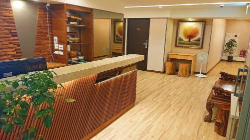 The lobby or reception area at Boutique HOTEL