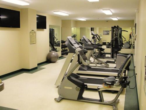 The fitness center and/or fitness facilities at Grant Street Inn - Bloomington