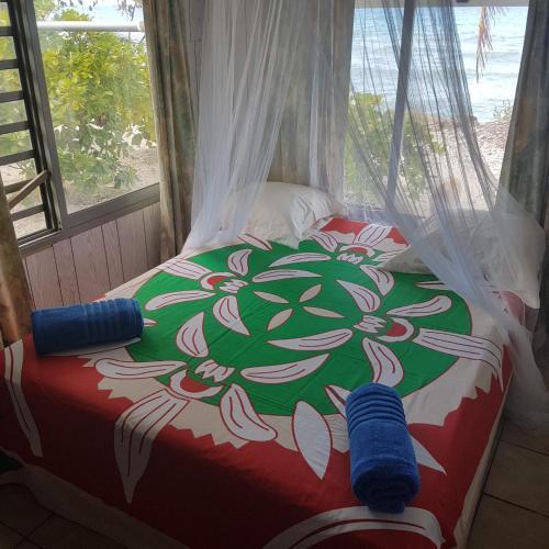 Cama ou camas em um quarto em Chez Sand