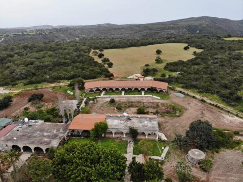 A bird's-eye view of Elausa Hotel & Restaurant