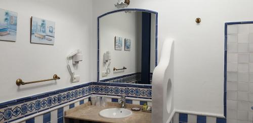 A bathroom at Casa Rural Mi Abuela Maria