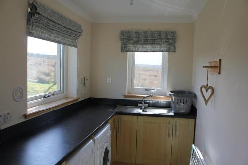 A kitchen or kitchenette at Trotternish Ridge View