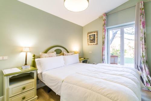 Cama o camas de una habitación en B&B Concha