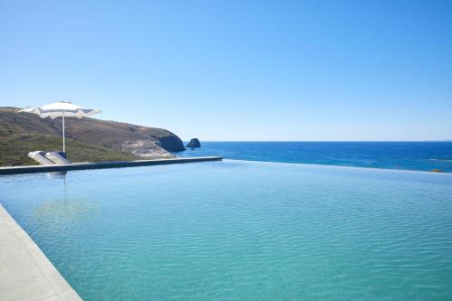 The swimming pool at or near Milos Breeze Boutique Hotel