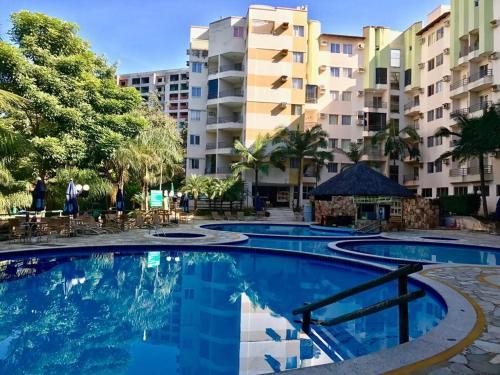 The swimming pool at or close to Thermas Paradise Cobertura de Alto Padrão