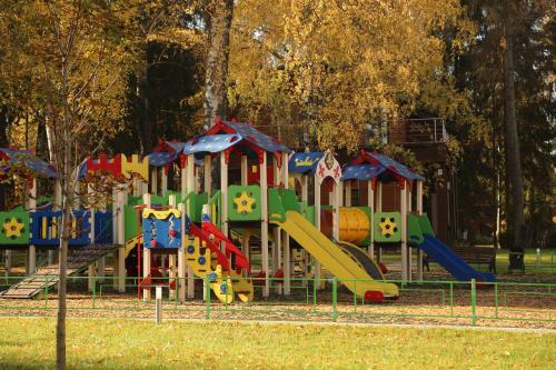 Children's play area at Resort Iksha