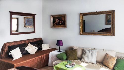 Posezení v ubytování Hotel Garni