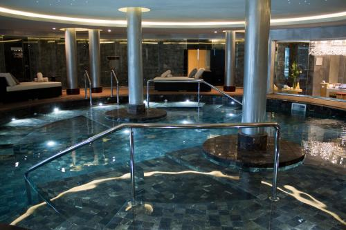 The swimming pool at or near Sofitel Montevideo Casino Carrasco & Spa