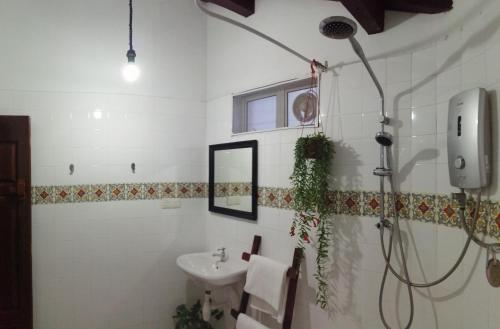 A bathroom at Great Shanghai Guesthouse