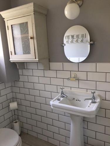 A bathroom at Home Farm House